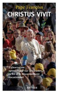 Couverture d'ouvrage: Christus vivit : exhortation apostolique sur les jeunes, la foi et le discernement vocationnel