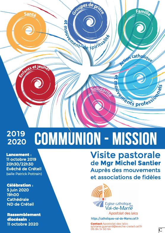 Visite pastorale des mouvements et associations de fidèles : soirée de lancement le 11 octobre