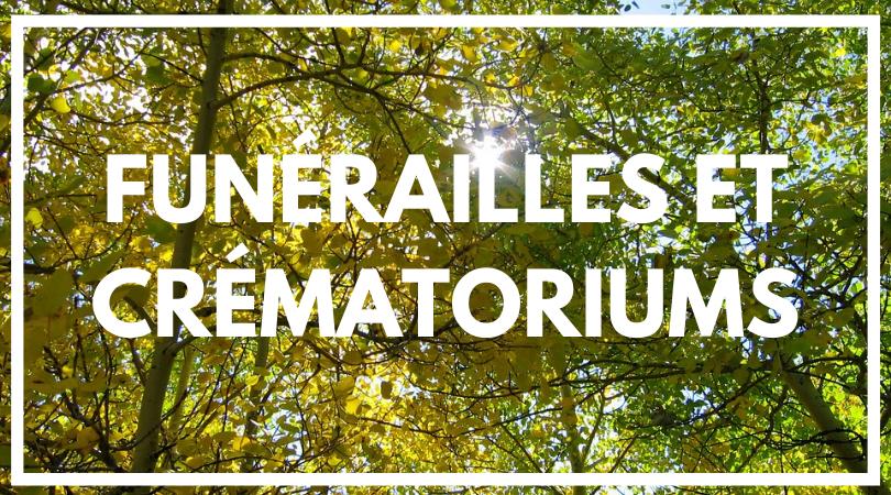 Funérailles et Crématoriums