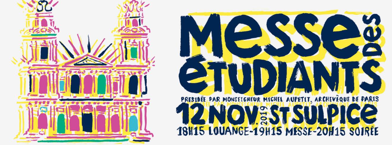Messe des étudiants le 12 novembre à St Sulpice