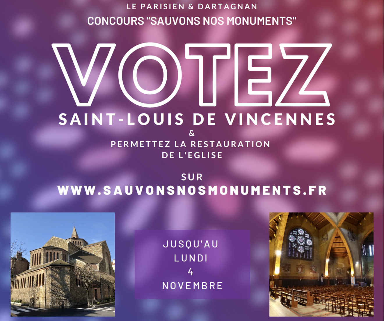 Sauvons nos monuments_Fb