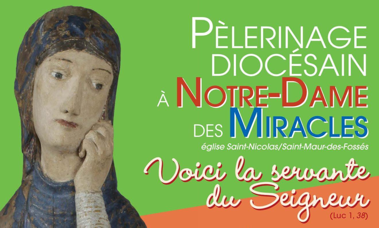 Pèlerinage diocésain à Notre-Dame des Miracles  samedi 7 décembre