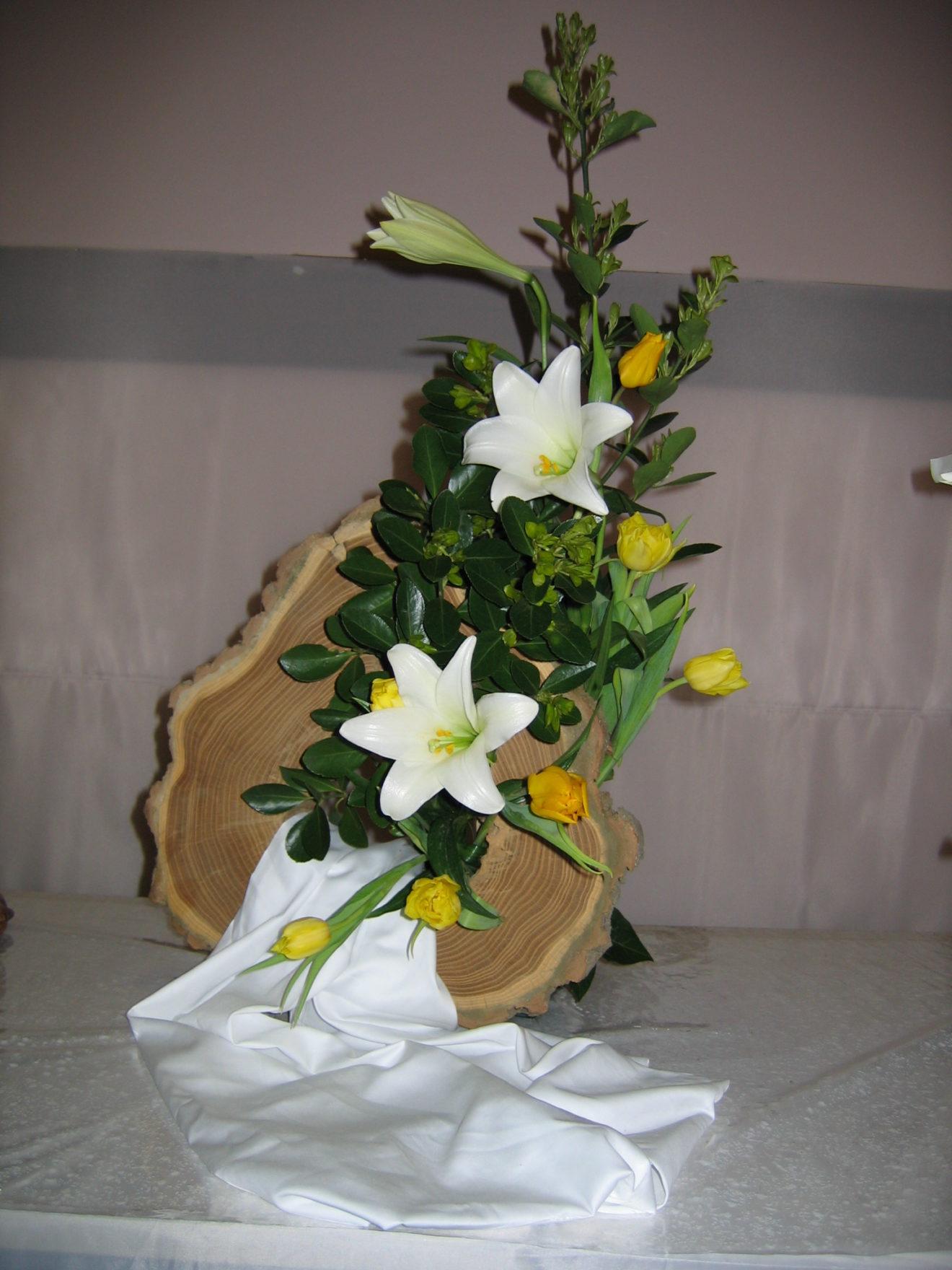 Formation d'art floral en liturgie