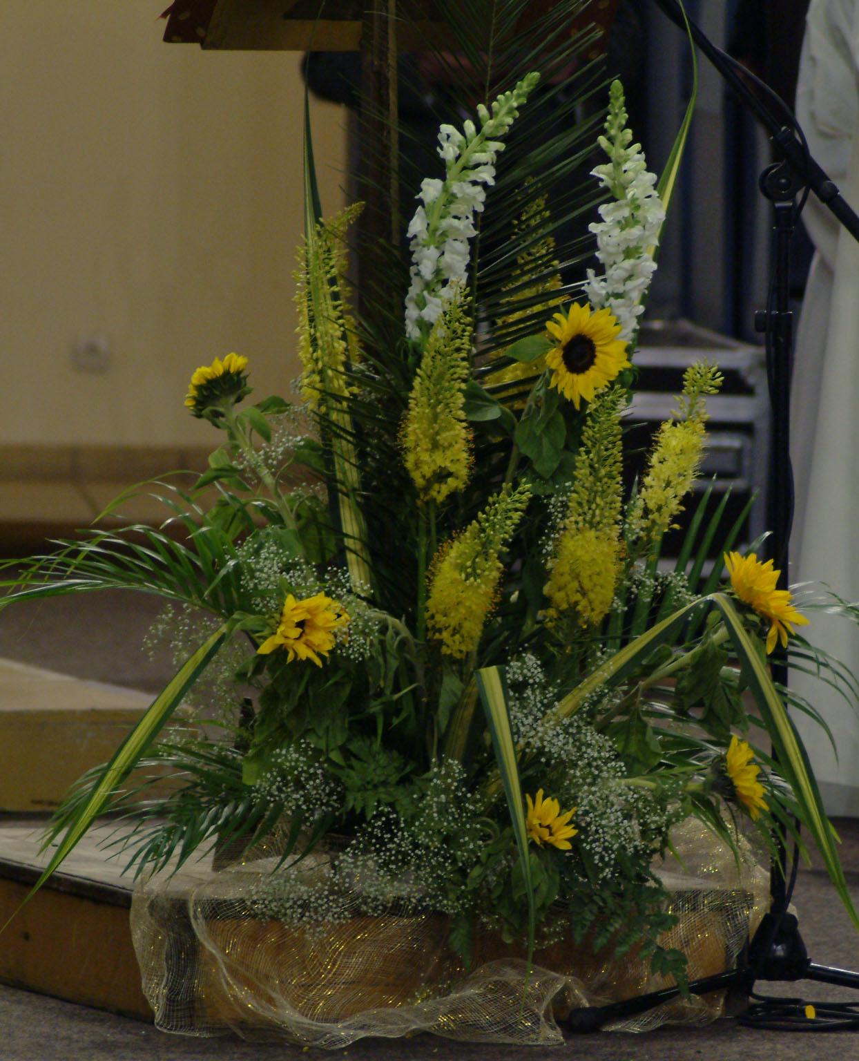 Formation art floral