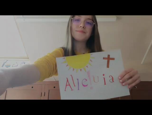 Capture vidéo Alléluia