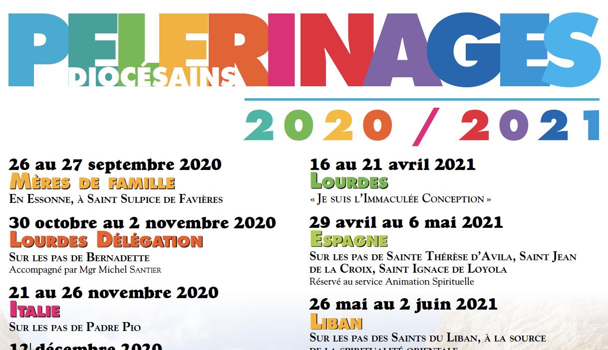 Pèlerinages du diocèse de Créteil : Découvrez le programme 2020-2021
