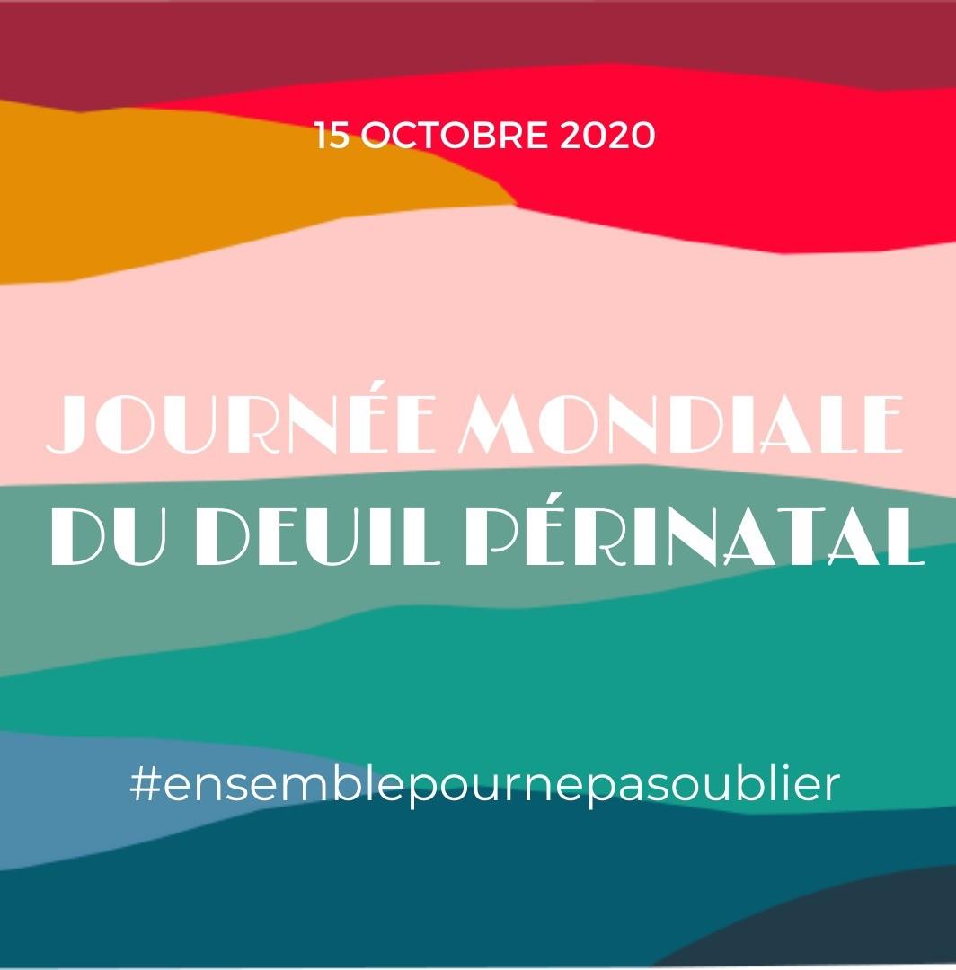 Journée mondiale du deuil périnatal le 15 octobre avec Agapa