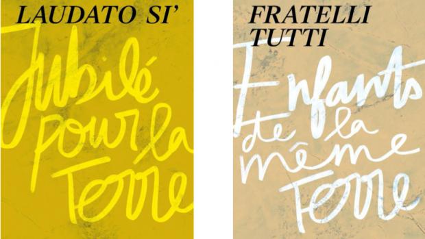 Proposition de bannières Laudato si' & Fratelli Tutti pour les paroisses, les communautés et les mouvements
