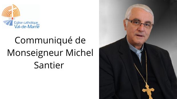 Communiqué de Mgr Michel Santier : appel à la solidarité pour la journée du 15 novembre