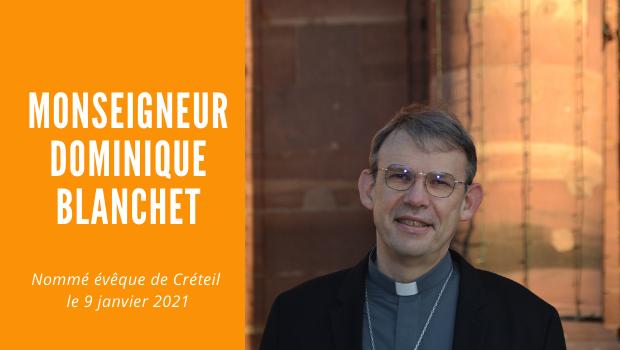 Messe d'installation de Monseigneur Dominique Blanchet, nommé évêque de Créteil