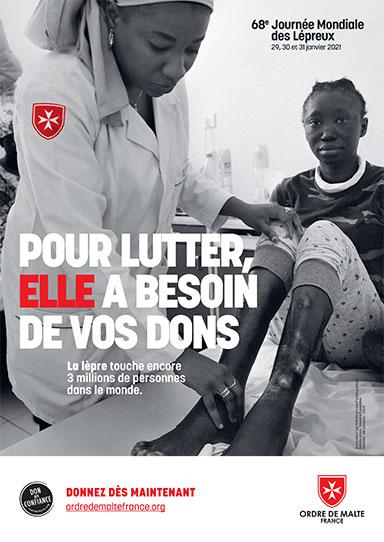 Quête Ordre de Malte pour la Journée Mondial des Lépreux - 30&31 janvier 2021