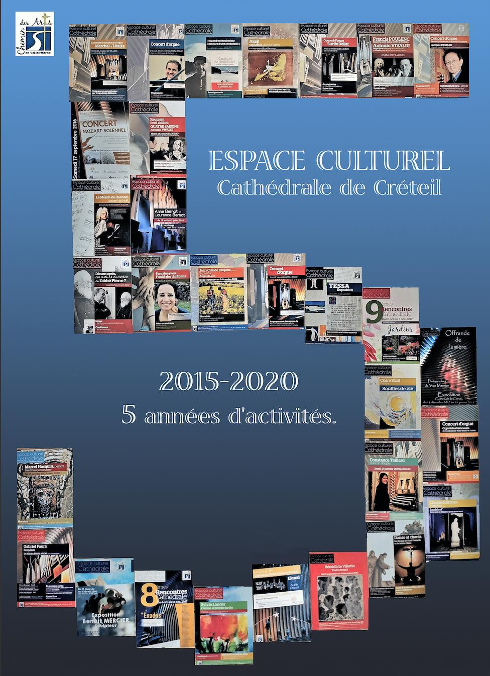 Exposition photos d'Yves Mernier: « 5 ans déjà ! ou la vie de L'Espace culturel Cathédrale »