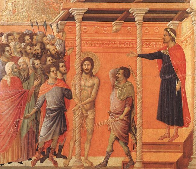Par Duccio di Buoninsegna — Web Gallery of Art:  Image Info about artwork, Domaine public, https://commons.wikimedia.org/w/index.php?curid=15453159