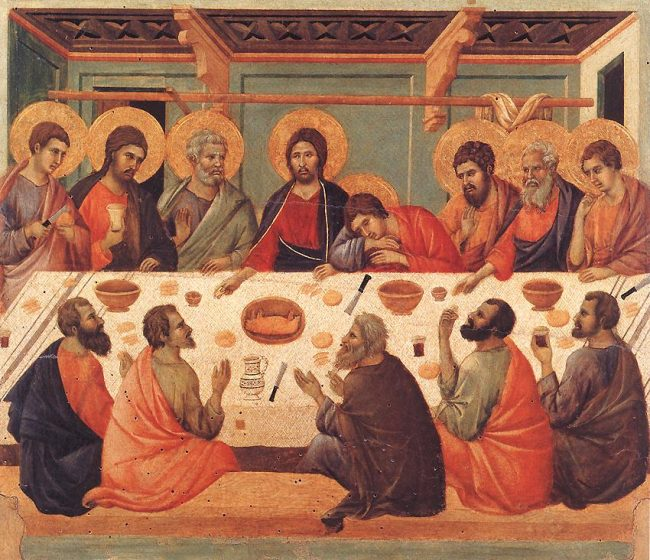 By Duccio di Buoninsegna - Web Gallery of Art:   Image  Info about artwork, Public Domain, https://commons.wikimedia.org/w/index.php?curid=15453125