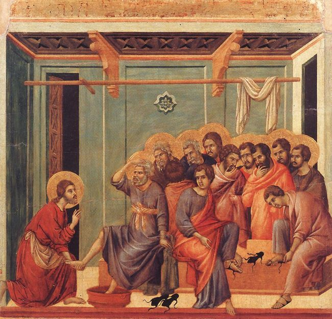 By Duccio di Buoninsegna - Web Gallery of Art:   Image  Info about artwork, Public Domain, https://commons.wikimedia.org/w/index.php?curid=7922684