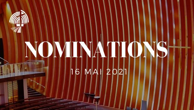 Nominations officielles pour le diocèse de Créteil - par décision de Monseigneur Blanchet à compter du 1er septembre 2021