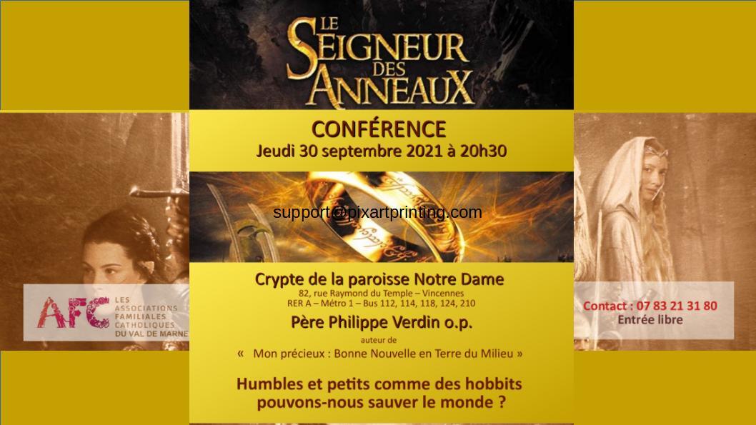 """""""Le Seigneur des anneaux""""- Conférence du p. PhilippeVerdinop"""