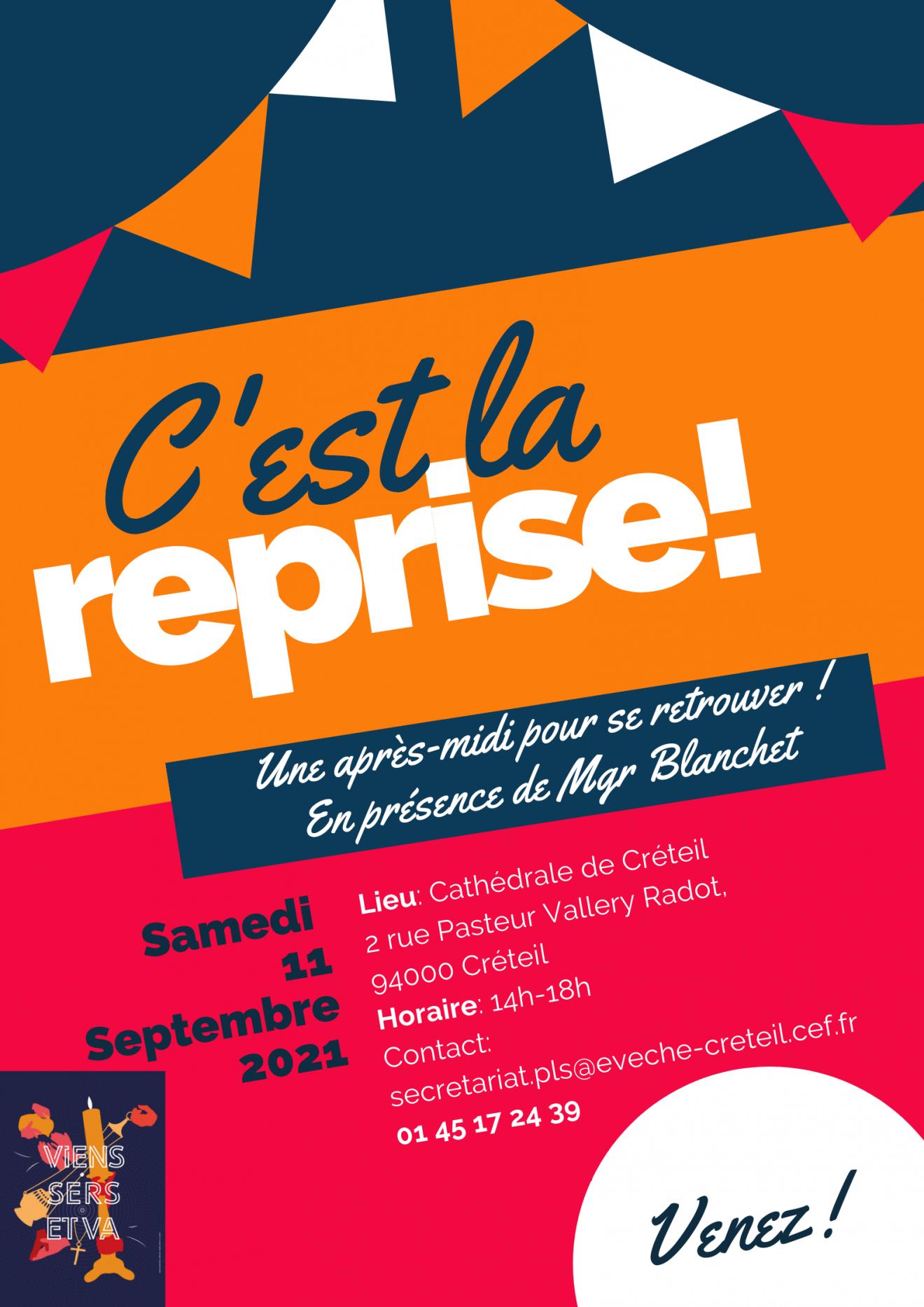 Rassemblement des serants d'autel, samedi 11 septembre 2021 de 14h à 18h