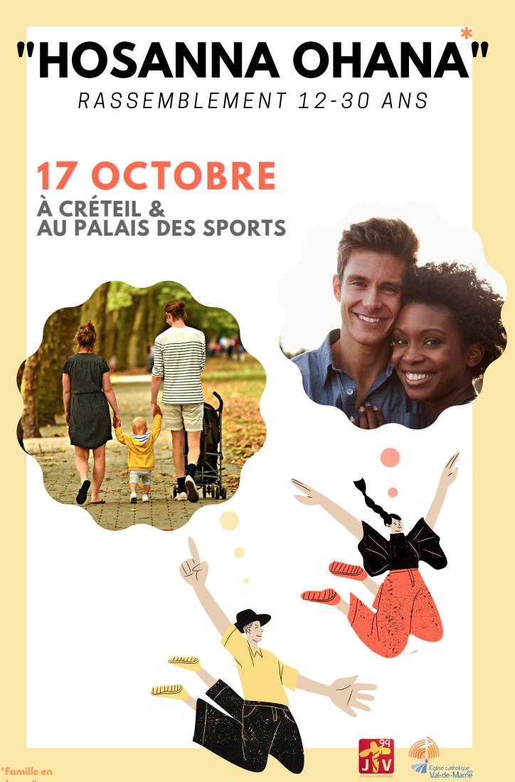 Hosanna Ohana : le rassemblement des jeunes du diocèse le 17 octobre 2021
