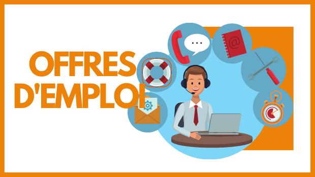 Offres d'emploi : Assistant(e)s polyvalent(e)s - Cinq postes à pourvoir