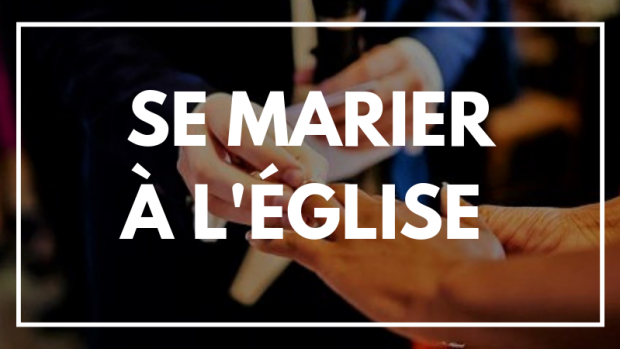 SE MARIER A L'EGLISE